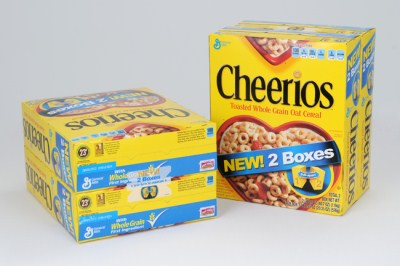 4 boxes of Cheerios giveaway
